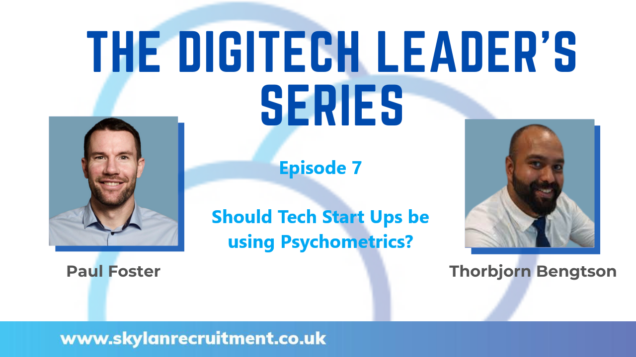 DigiTech Leaders Series Interview with Thorbjorn Bengtson